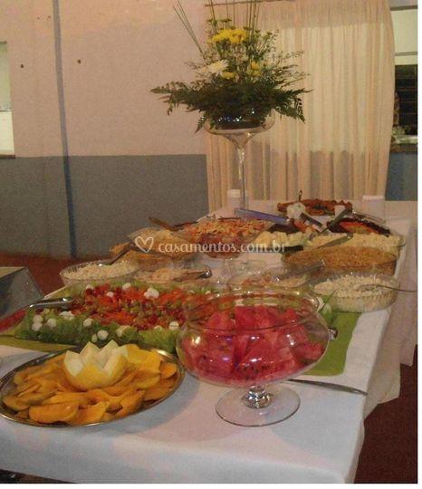 Catering para festa