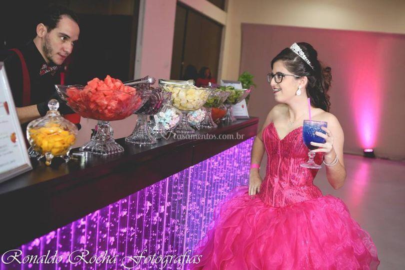 Bar bolhas - debutante