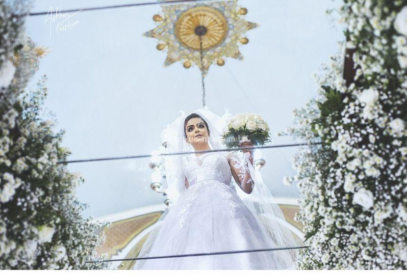 Noiva Carol Boaventura