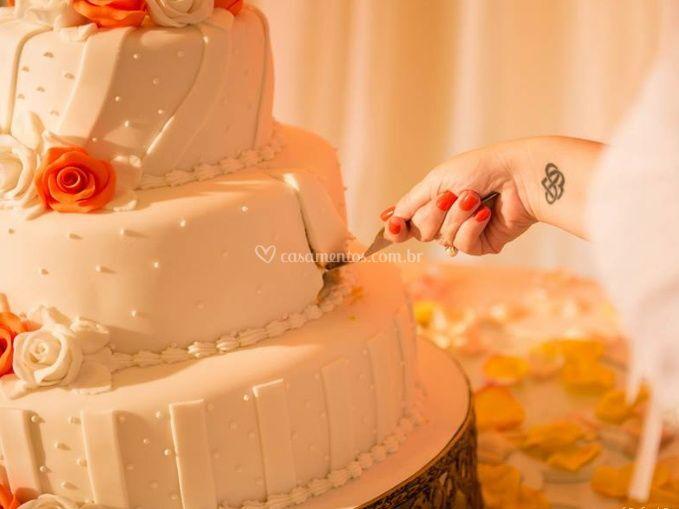 A partir do bolo