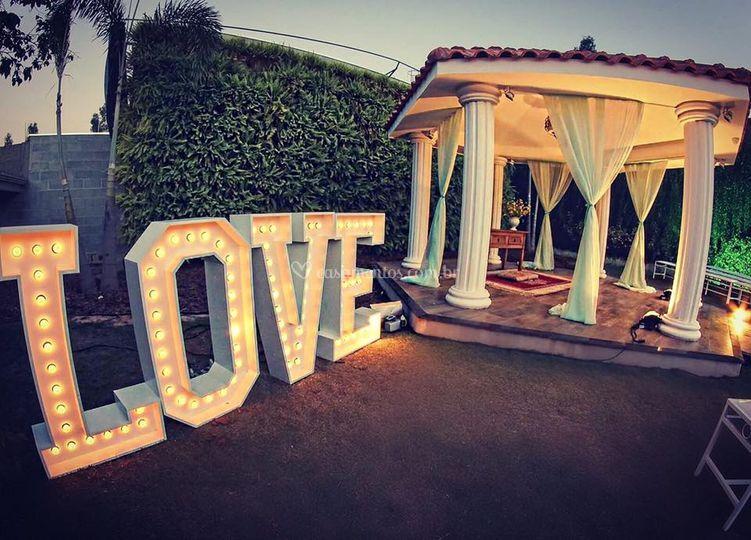 Love gazebo