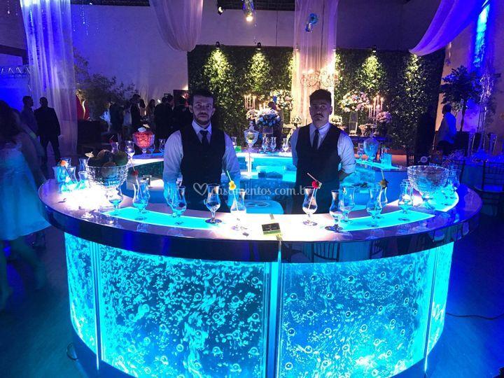 Bar bolha em ilha