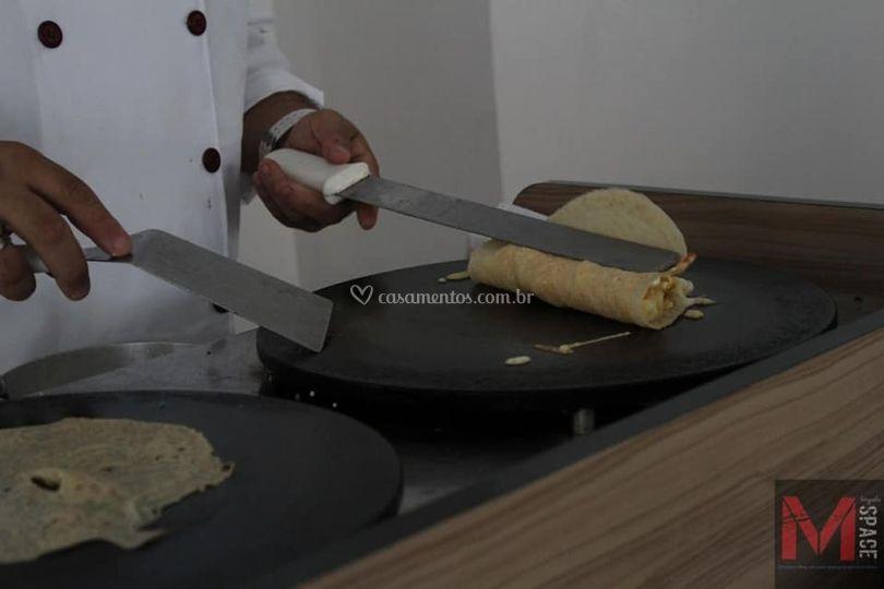 Buffet Crepe Lilas