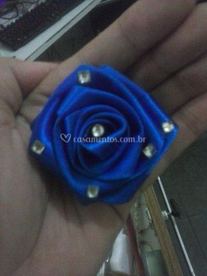 Flor Azul Royal