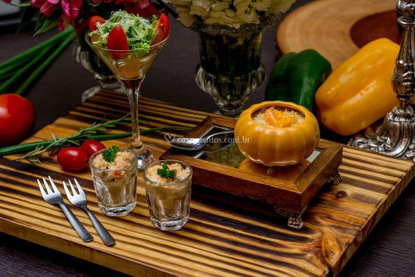 Finger Foods e Petit Gourmet