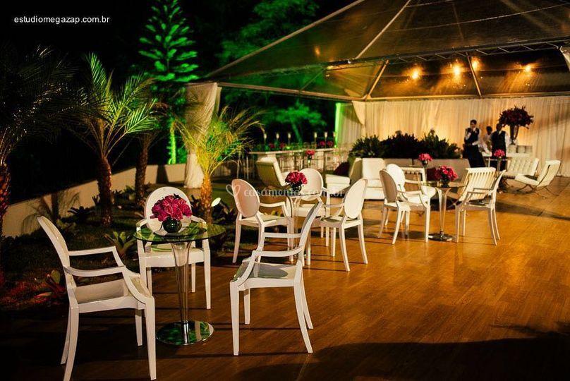 Área perfeita para lounges