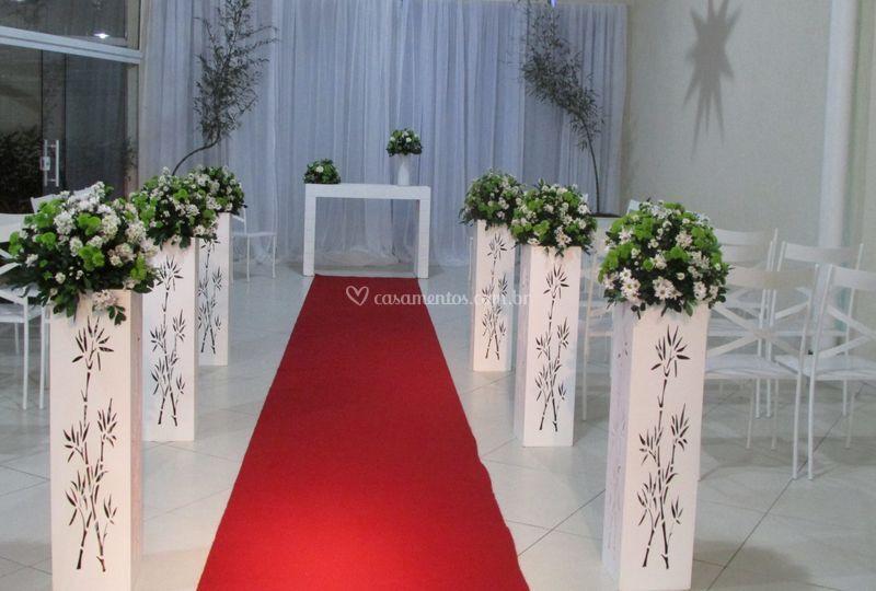 Casamento - verde e branco