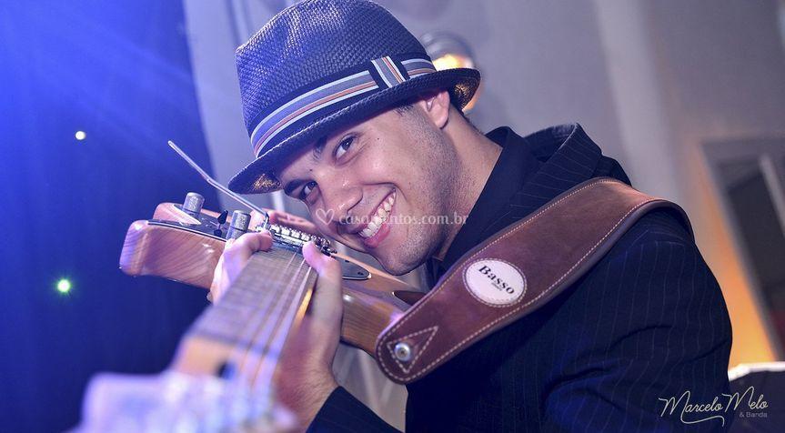 Guitarrista Renato Melo