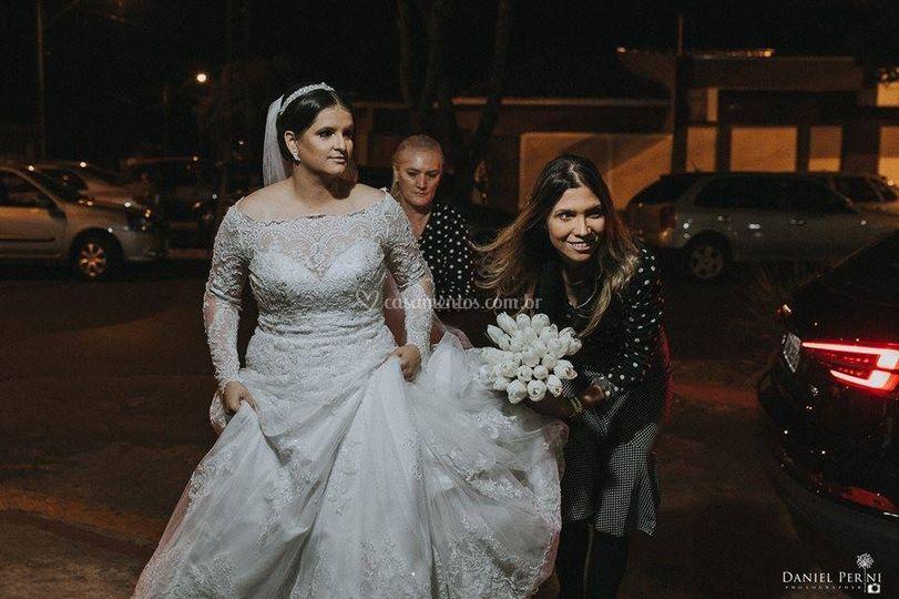 Noiva Linda:Ariane d Cravinhos