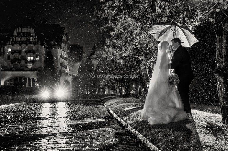A chuva que tem seus encantos.
