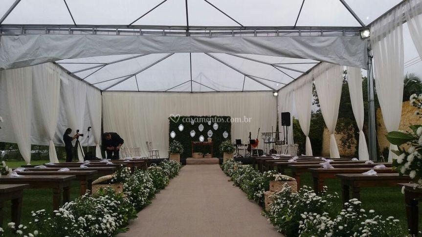 Tenda Cristal Cerimônia