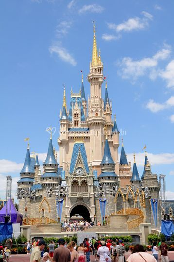 Castelo na disney world