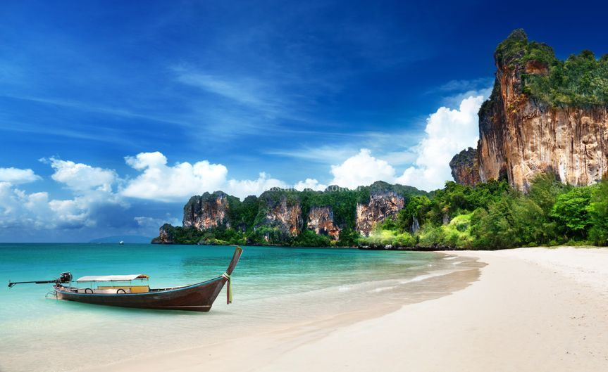 Railay em krabi-Tailândia