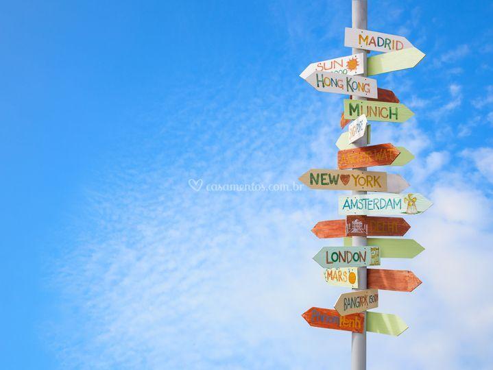 Qual seu próximo destino?