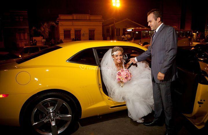 Carruagem do casamento