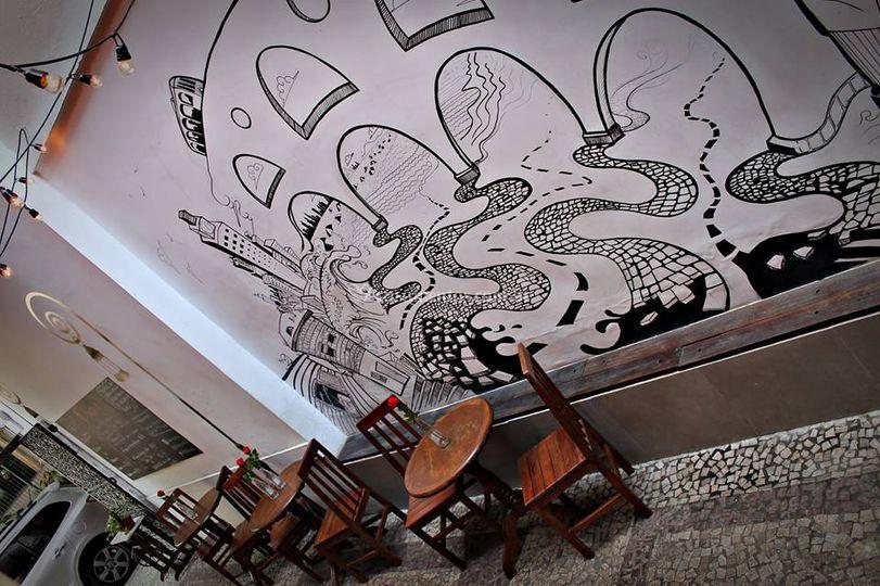 Arte no corredor