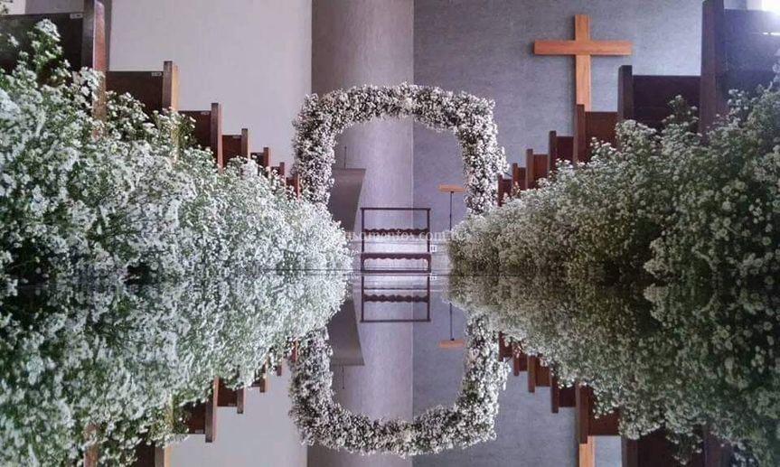 Tapete/corredor  de flores
