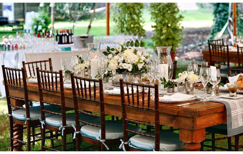 Mesa Família dos Noivos