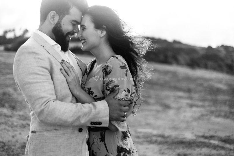 Ensaio Sergio e Lívia