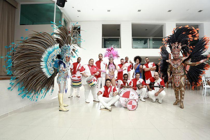 Carnaval com muito luxo