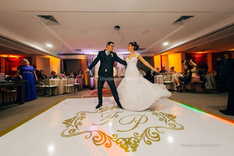 Fabiana Anhaia de Dcomp Adesivos de Pista de Dança Personalizada