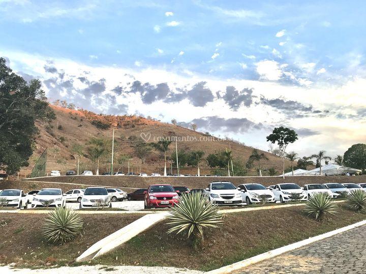 Estacionamento para 150 carros