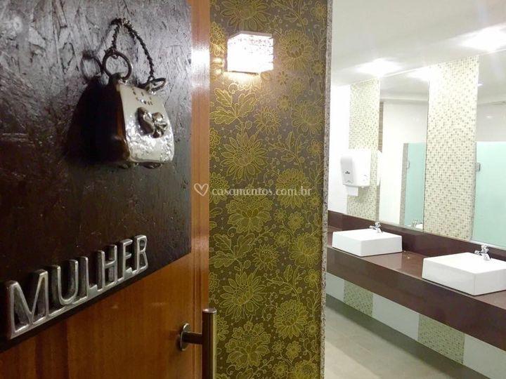 Banheiro de convidados