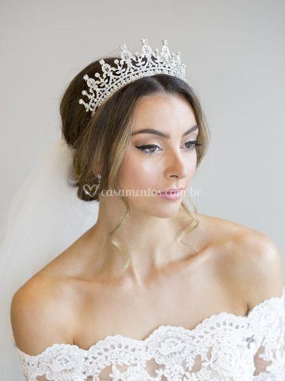 Coroa Duquesa strass 110,00