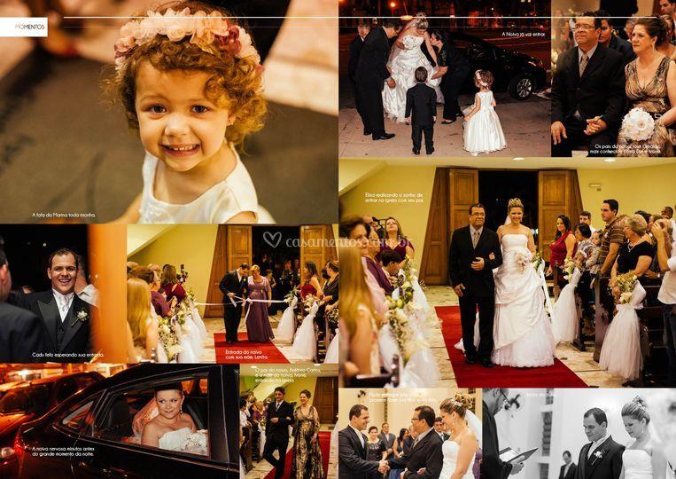 Fotos da cerimônia