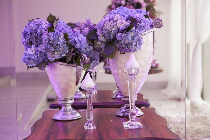 Arranjo lilás