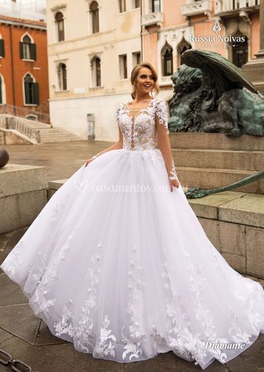 Vestido Russia Noivas