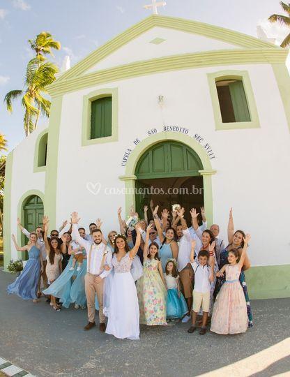 Casamento na Igrejinha PE