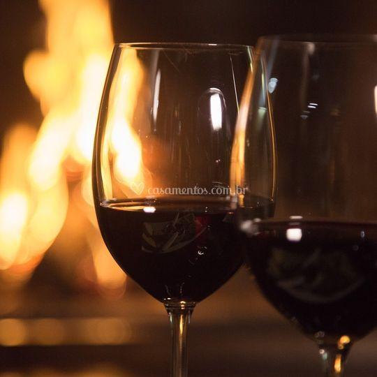 Opções de vinhos da Serra