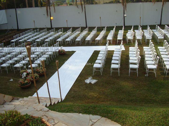 Casamento no gramado