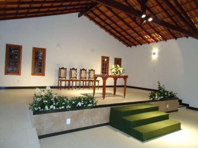 Altar do salão de Festas