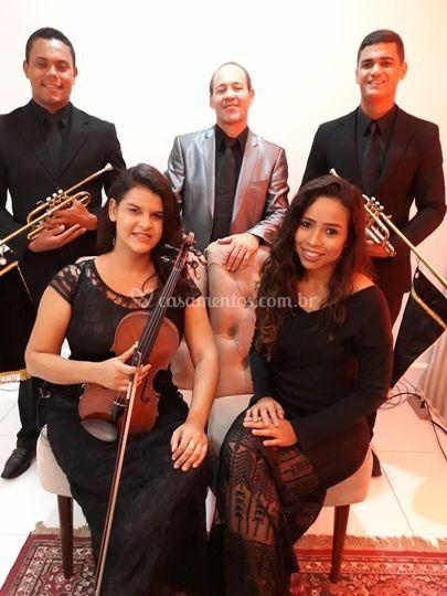 Quinteto com Clarins