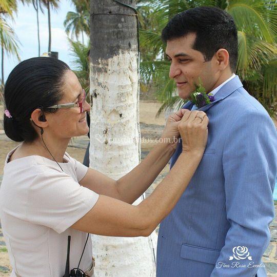 O noivo Adeildo