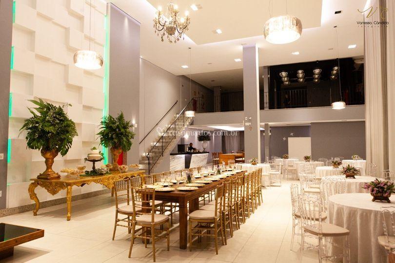 Salão Platinum mobiliário