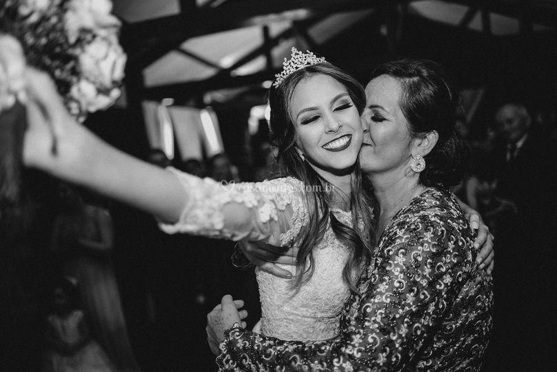 Noiva Natália e sua mãe !