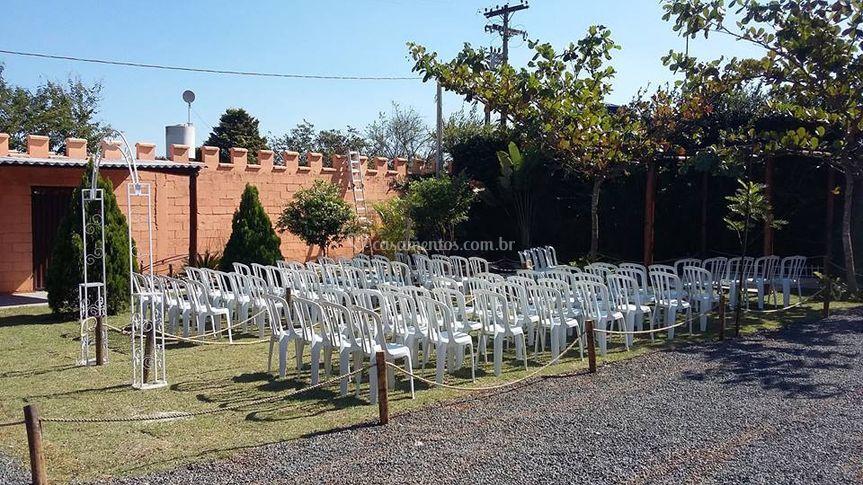 Zona para cerimonia