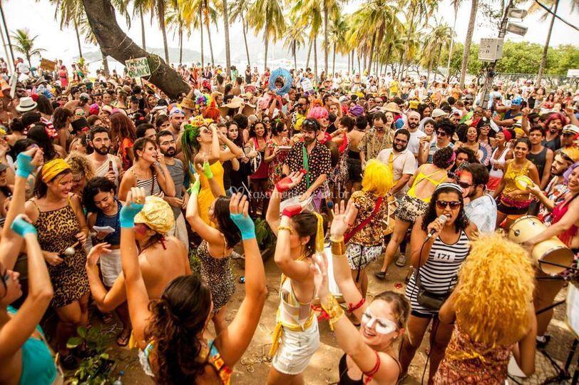 Aline Gonçalves Carnaval 2016