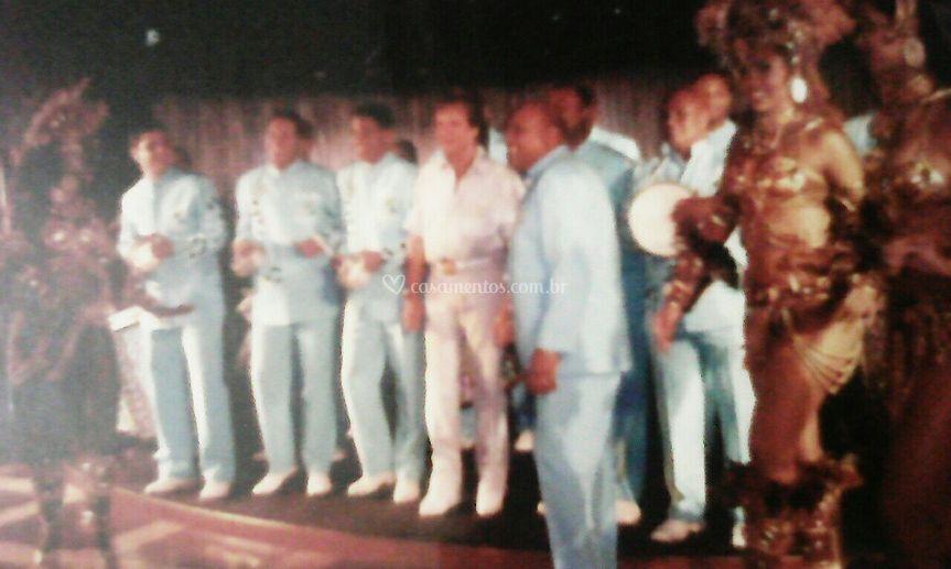 No Cruzeiro com Roberto Carlos