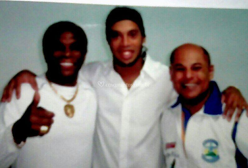 Marcinho Ronaldinho e Neguinho