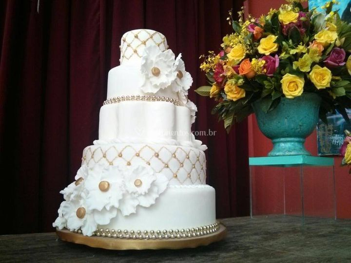 Bolo de Casamento