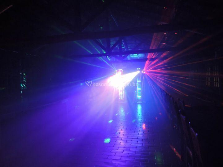 Iluminação de pista