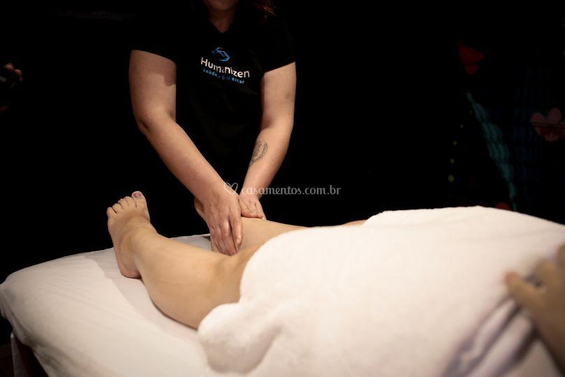 Massagem Relaxante Noiva