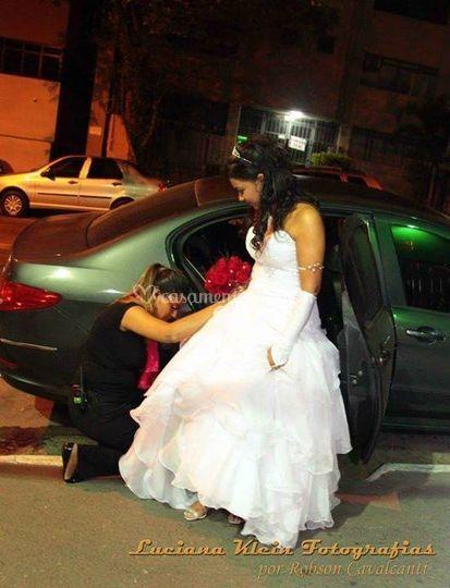 Atenção à noiva