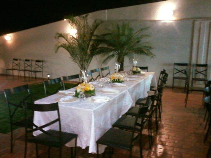 Jantares e eventos sociais