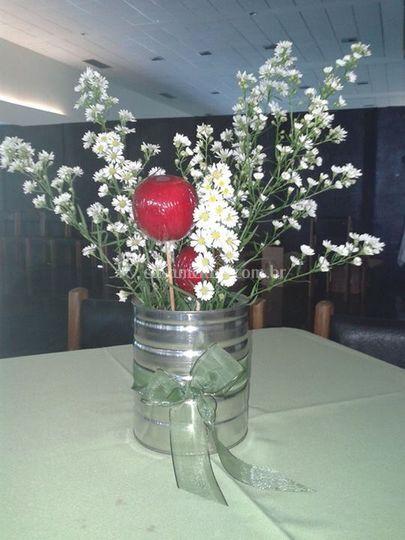 Apple em um vaso