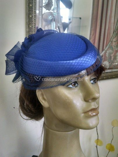 Casquete Azul Royal